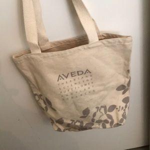Vintage Aveda canvas tote bag